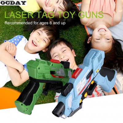 DIGITAL ELECTRIC GUNS TOY LASER TAG